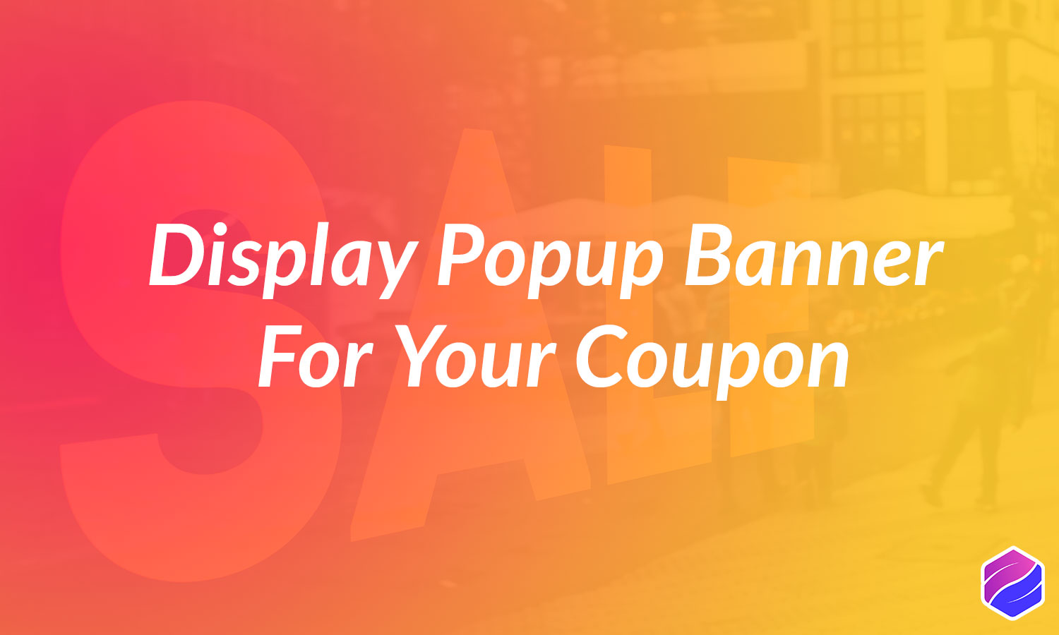 Popup Banner for Coupon